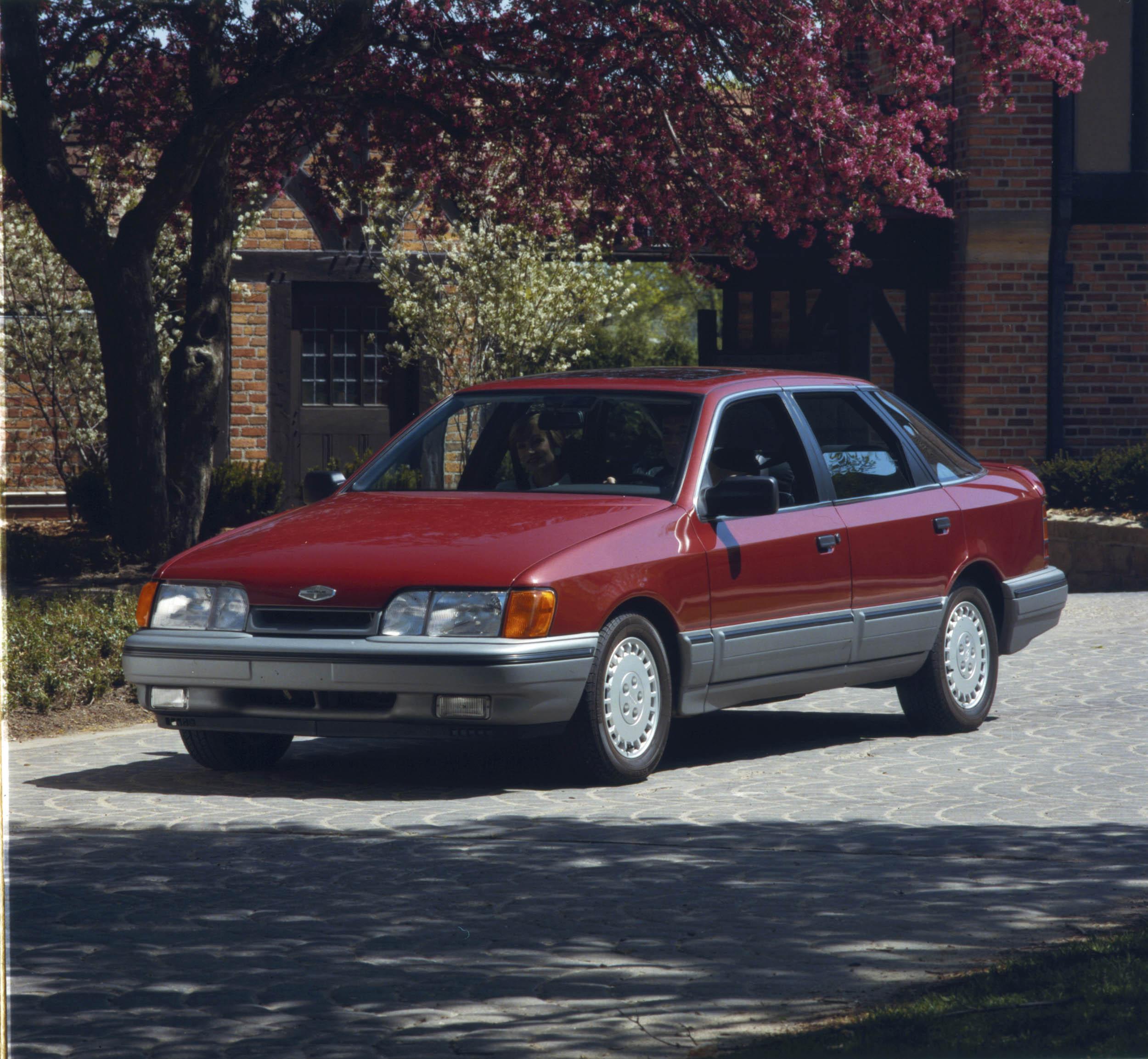 1988 Merkur Scorpio in the drive way