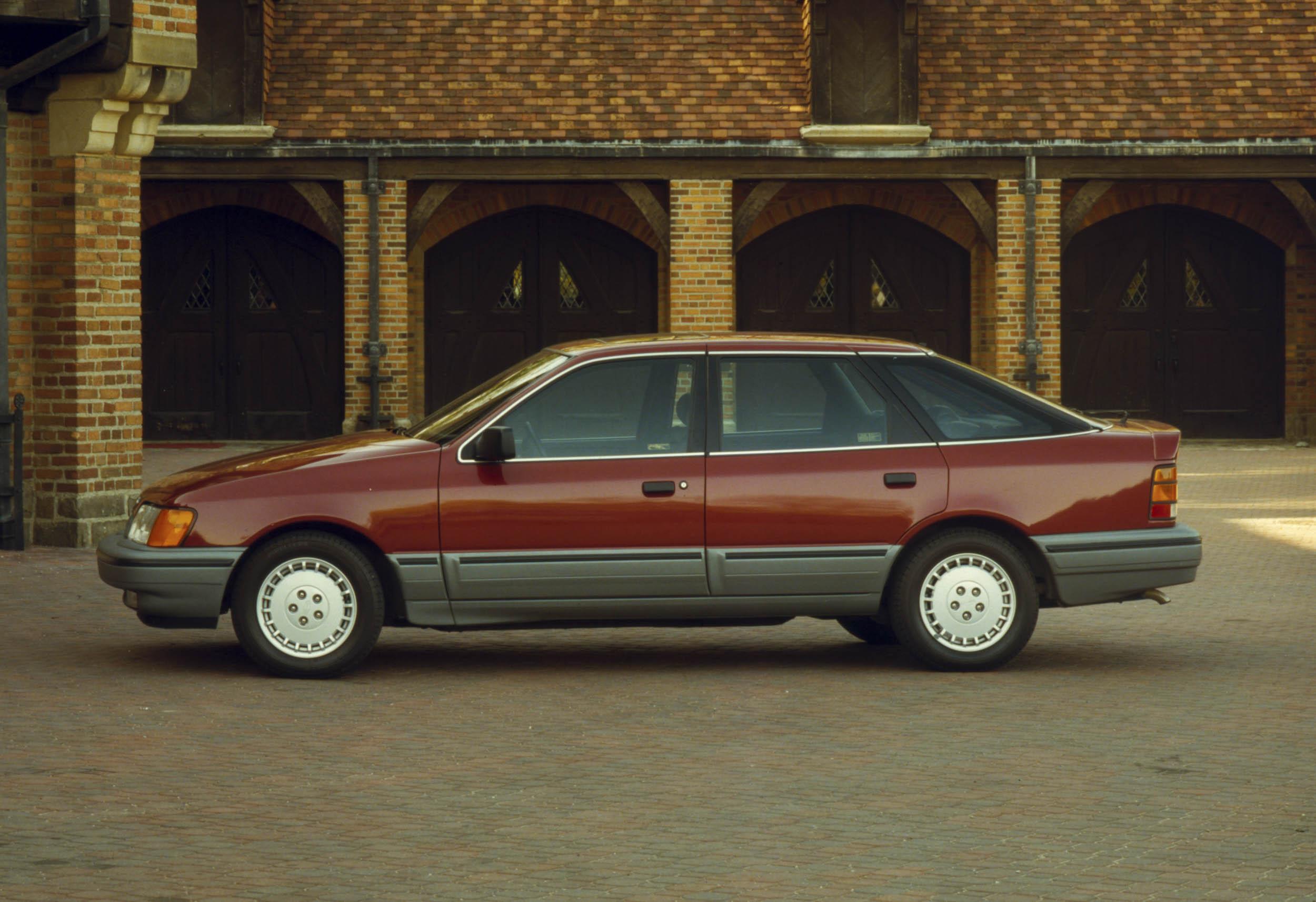 1988 Merkur Scorpio profile
