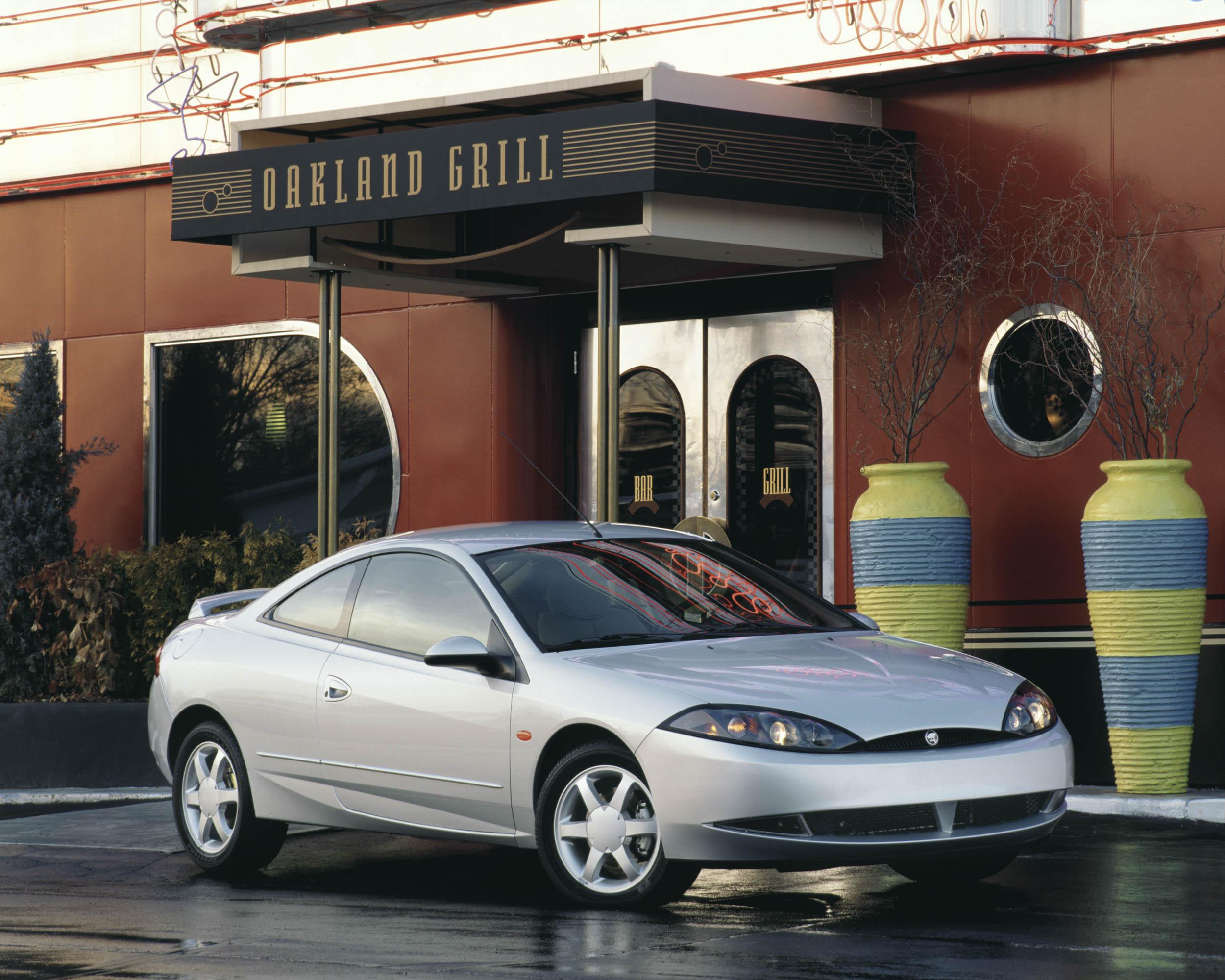 1999 Mercury Cougar front 3/4