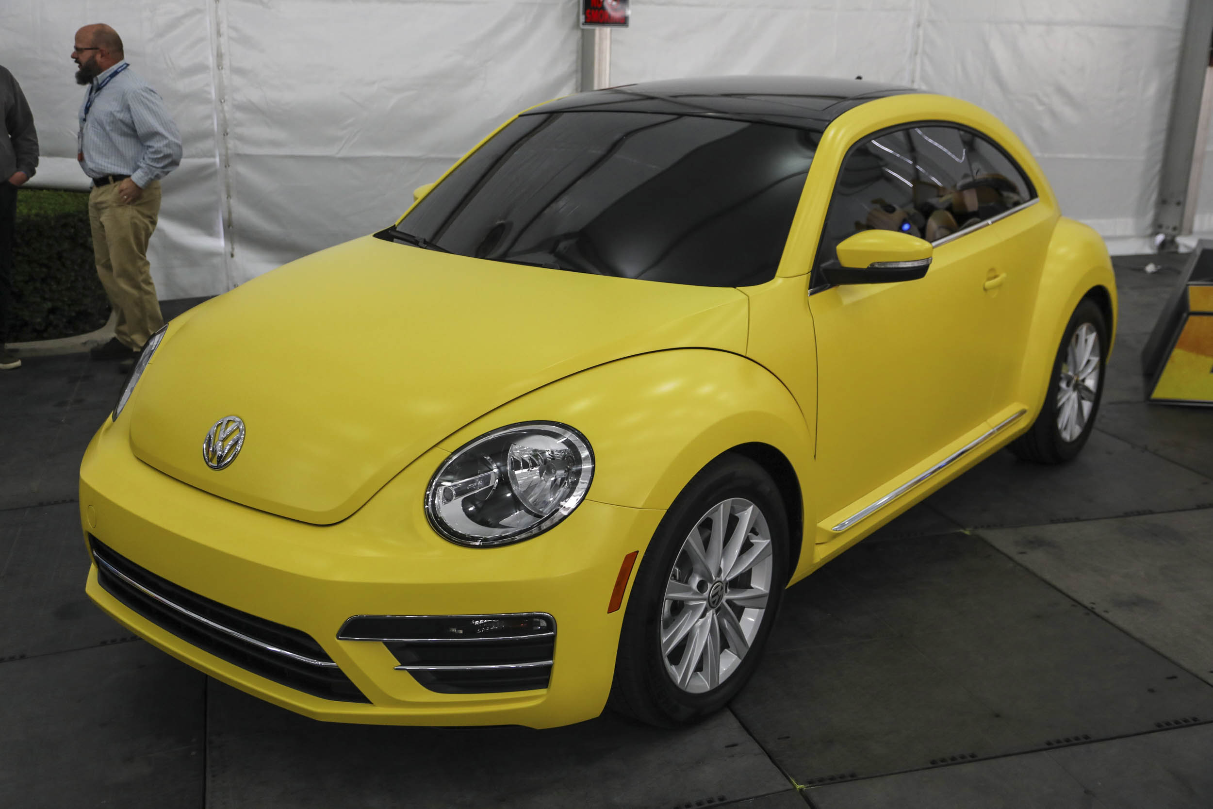 New VW Beetle LA Auto Show