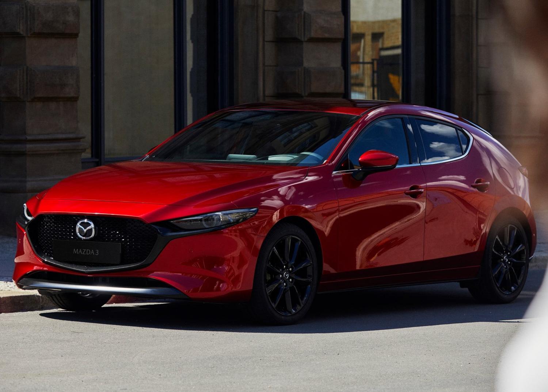 2019 Mazda 3 back to back