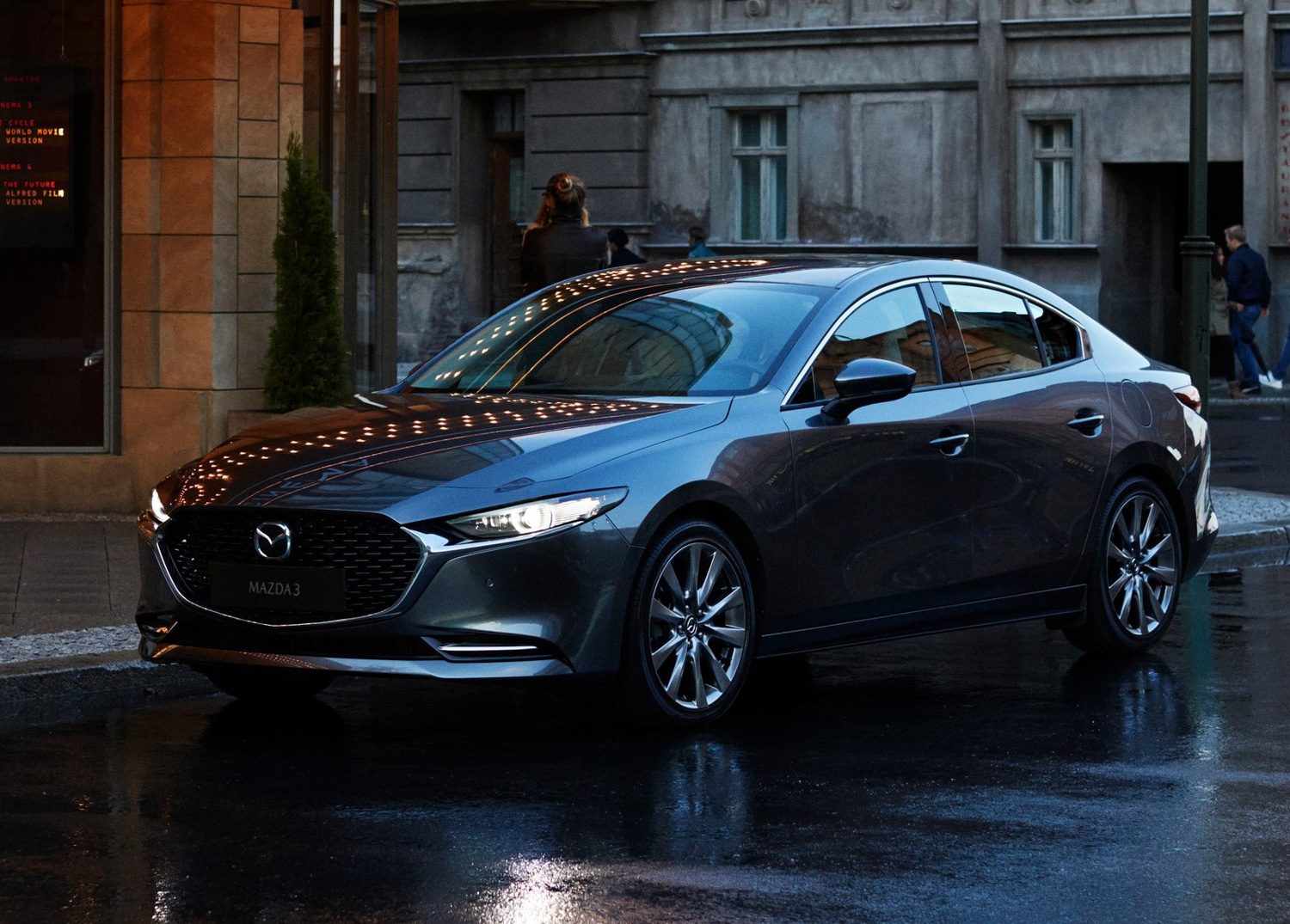 2019 Mazda 3 front grille detail