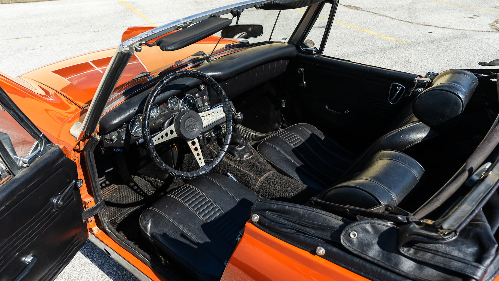 1971 MG Midget interior