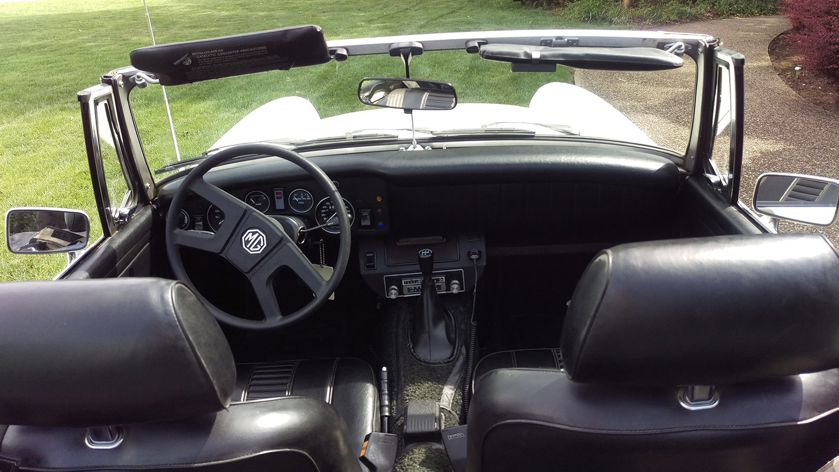 1979 MG Midget interior