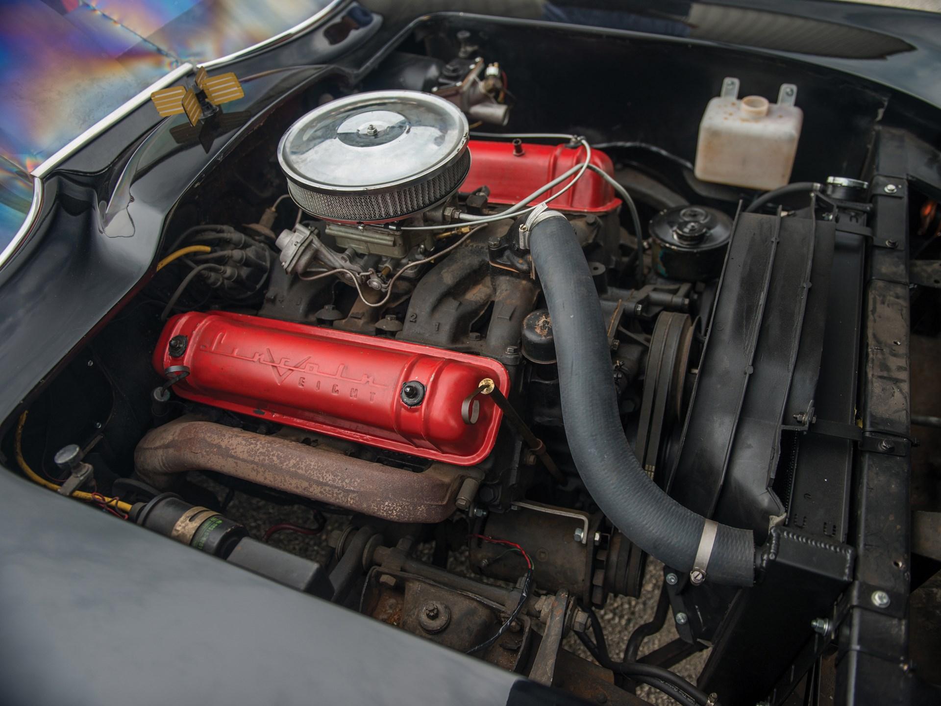 1966 Batmobile Recreation engine