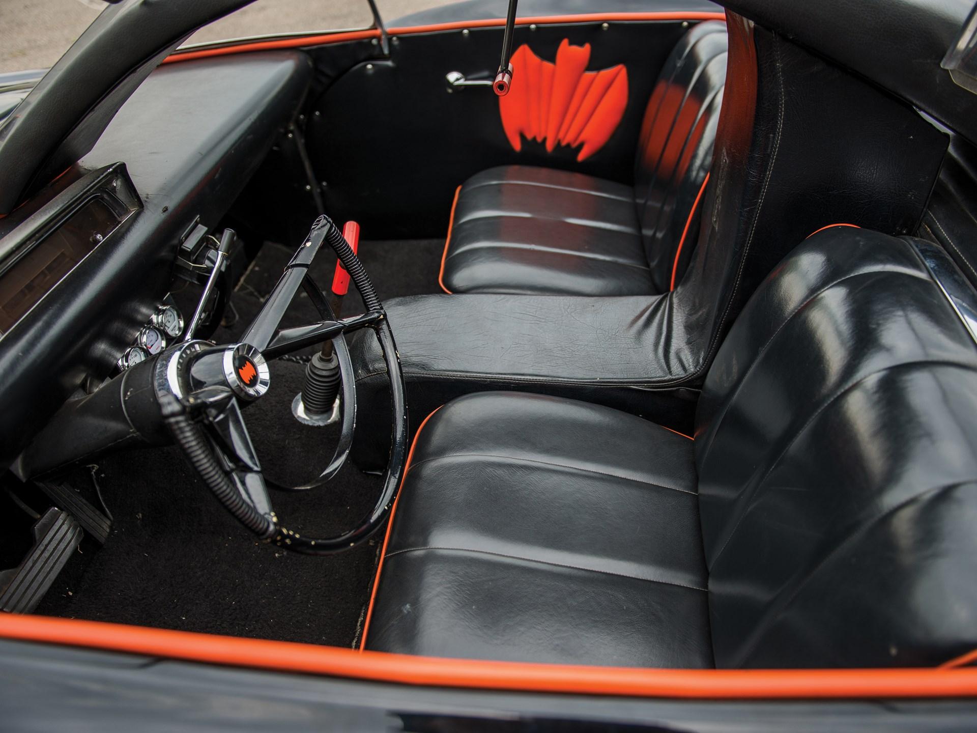 1966 Batmobile Recreation interior seats