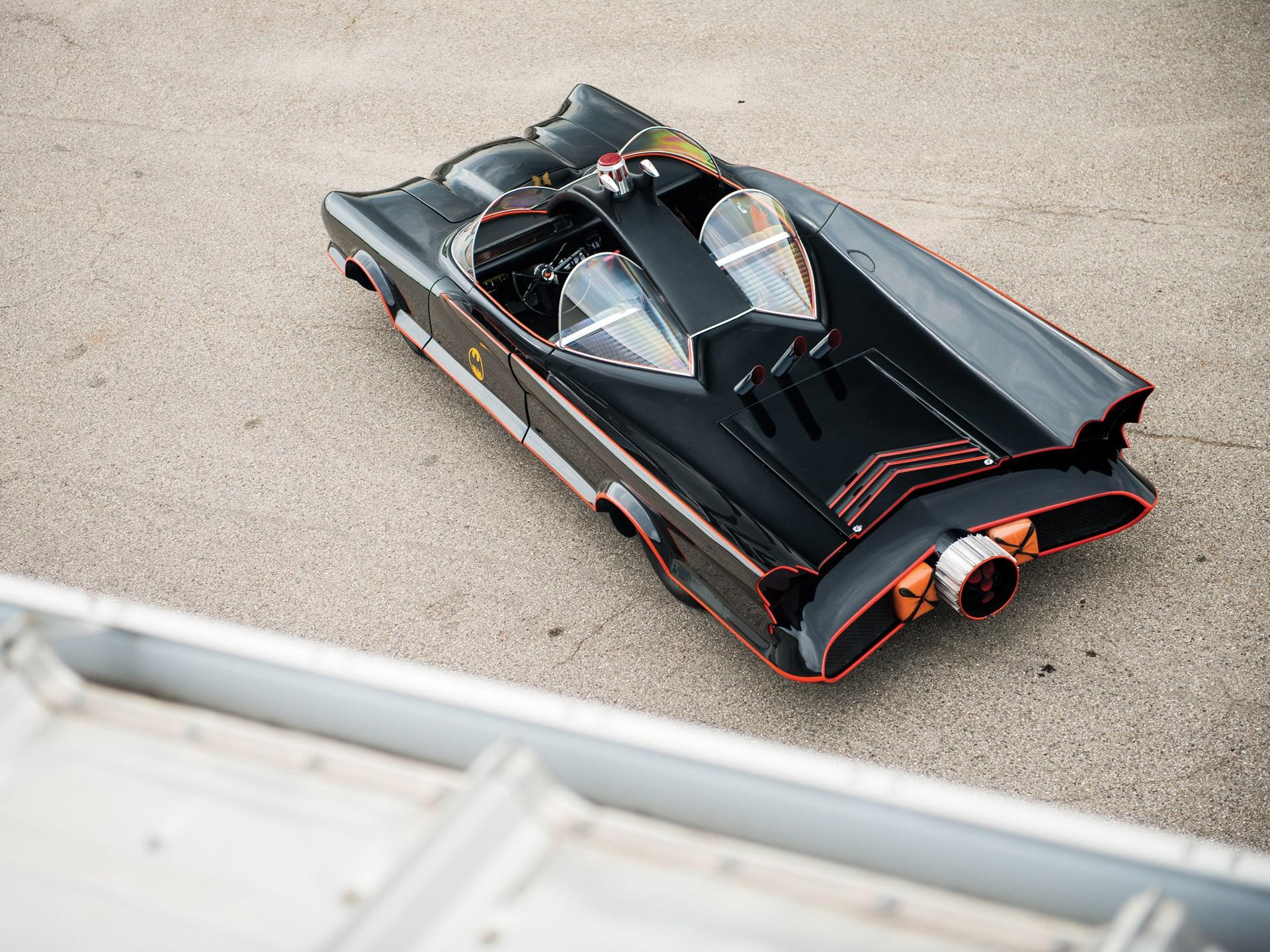 1966 Batmobile Recreation high 3/4 rear