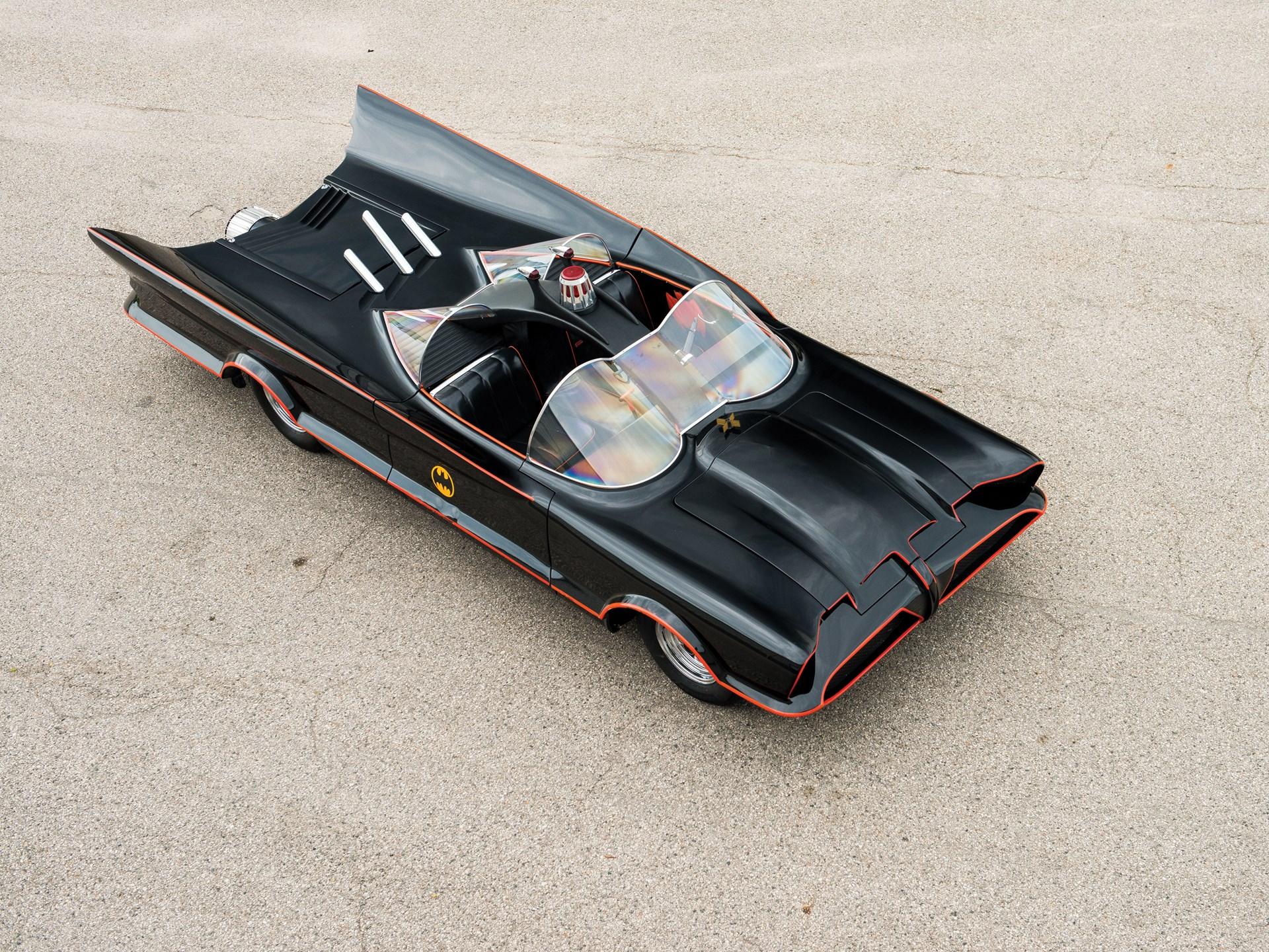 1966 Batmobile Recreation 3/4 high
