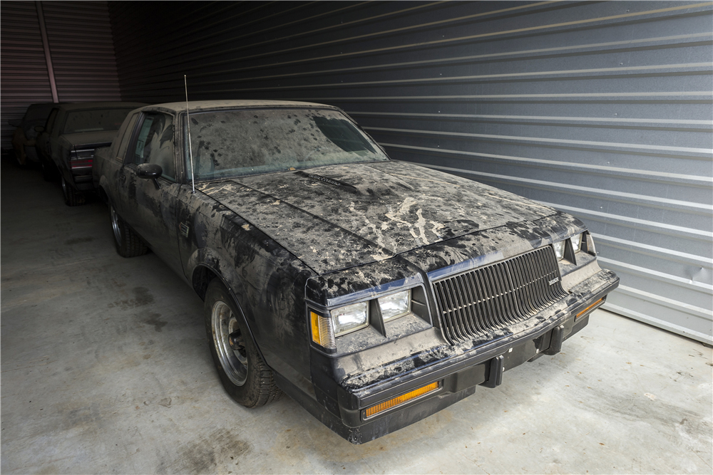 1987 Buick Grand National 3/4 front in barn