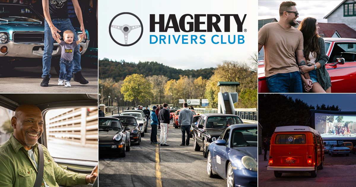 Announcing the Hagerty Drivers Club thumbnail