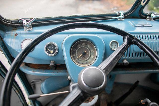 1962 Volkswagen Vanagon speedometer