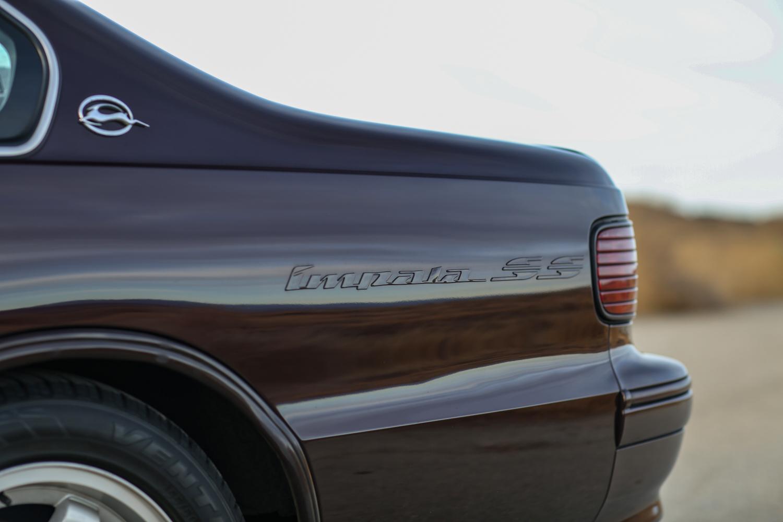 1996 Chevrolet Impala SS rear quarter fender