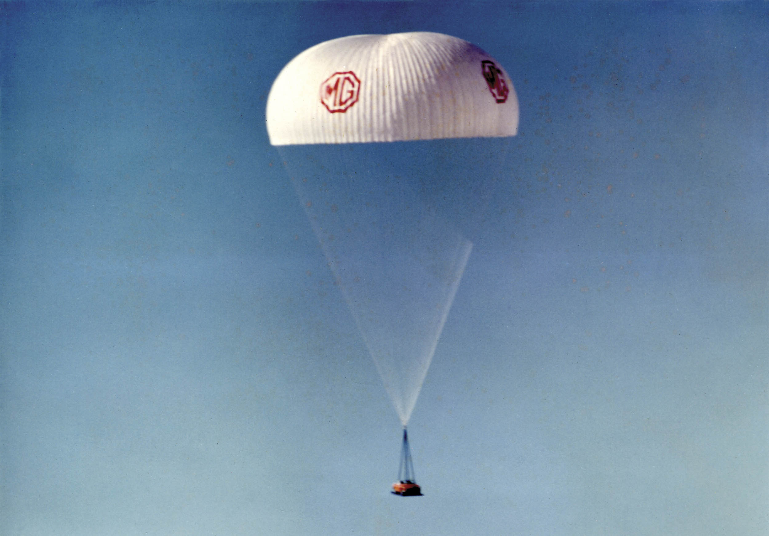 Confidence in the stunt relied on the belief that the British Army regularly parachuted vehicles. Only later was it admitted that nobody actually knew if the British Army had ever dropped a vehicle successfully.