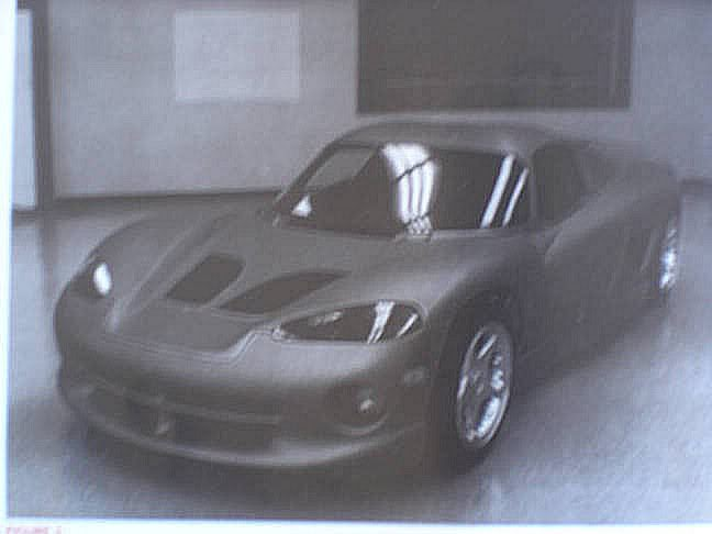 Mid-engined Dodge Viper rendered as C8 Corvette rival