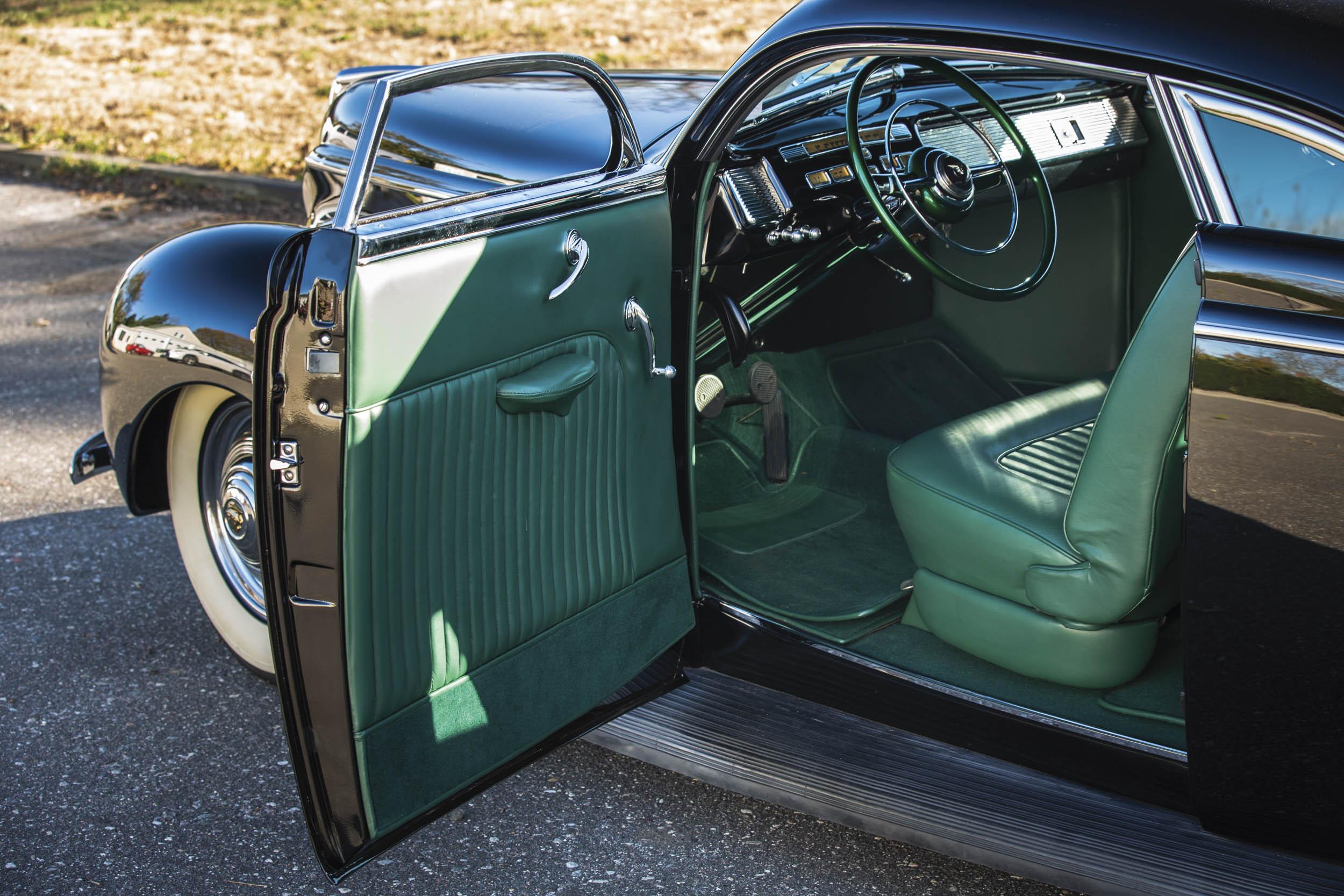 1940 Mercury Coupe Custom by Rudy Rodriguez interior