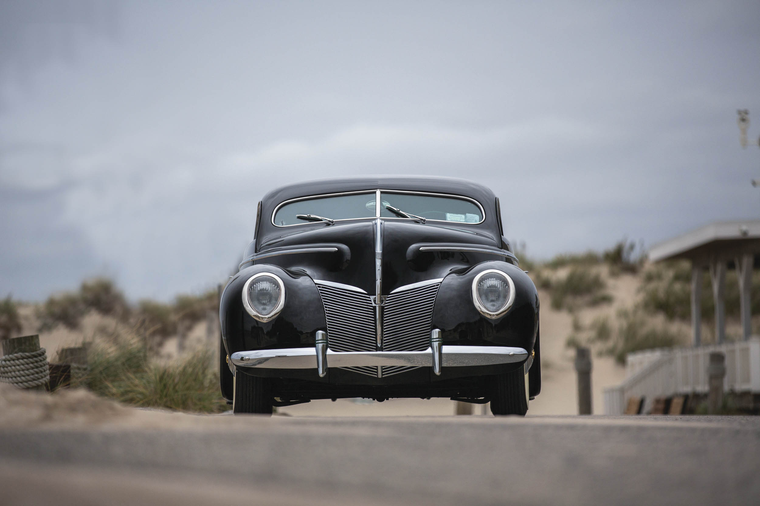 1940 Mercury Coupe Custom by Rudy Rodriguez front