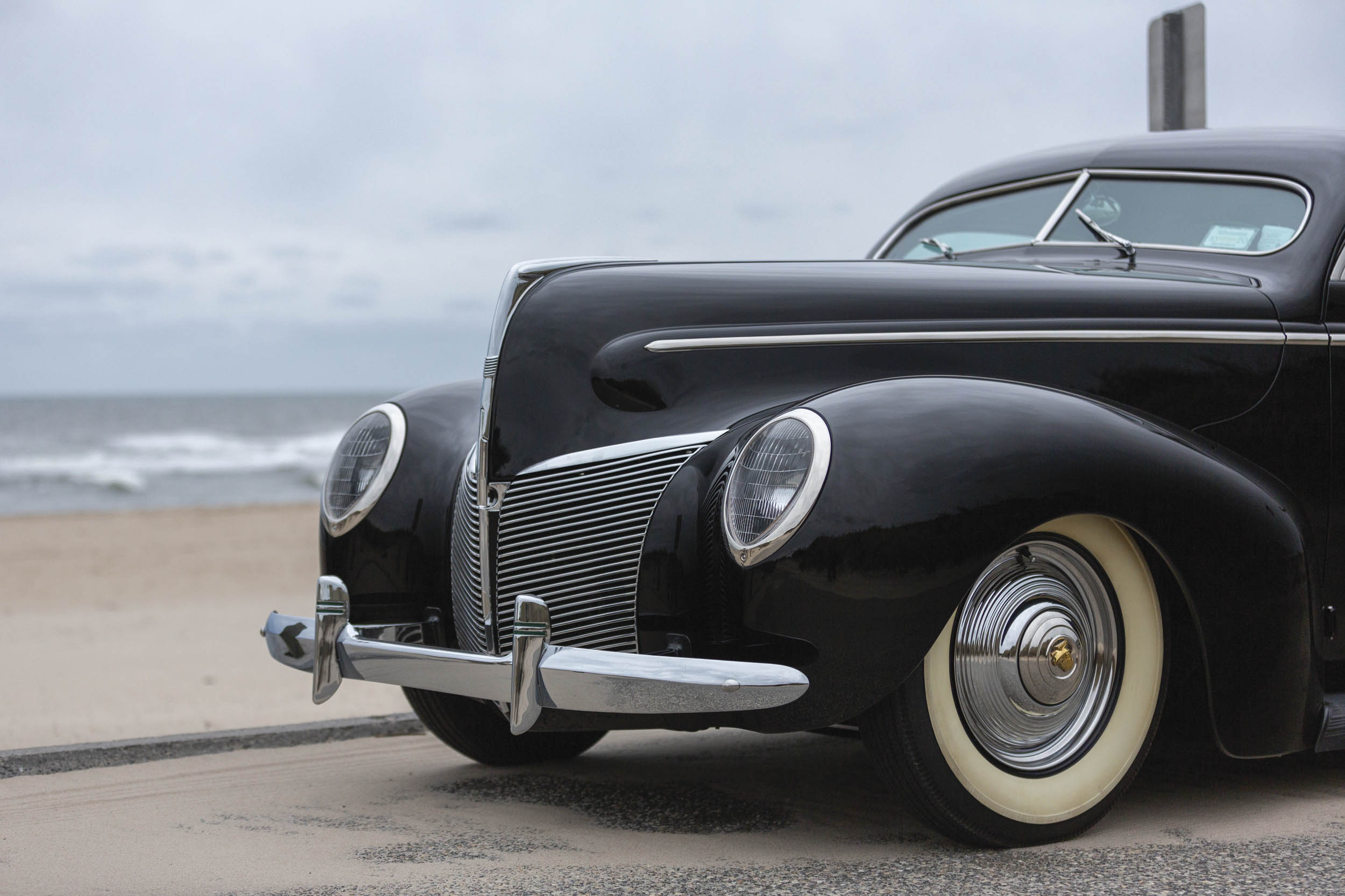 1940 Mercury Coupe Custom by Rudy Rodriguez nose