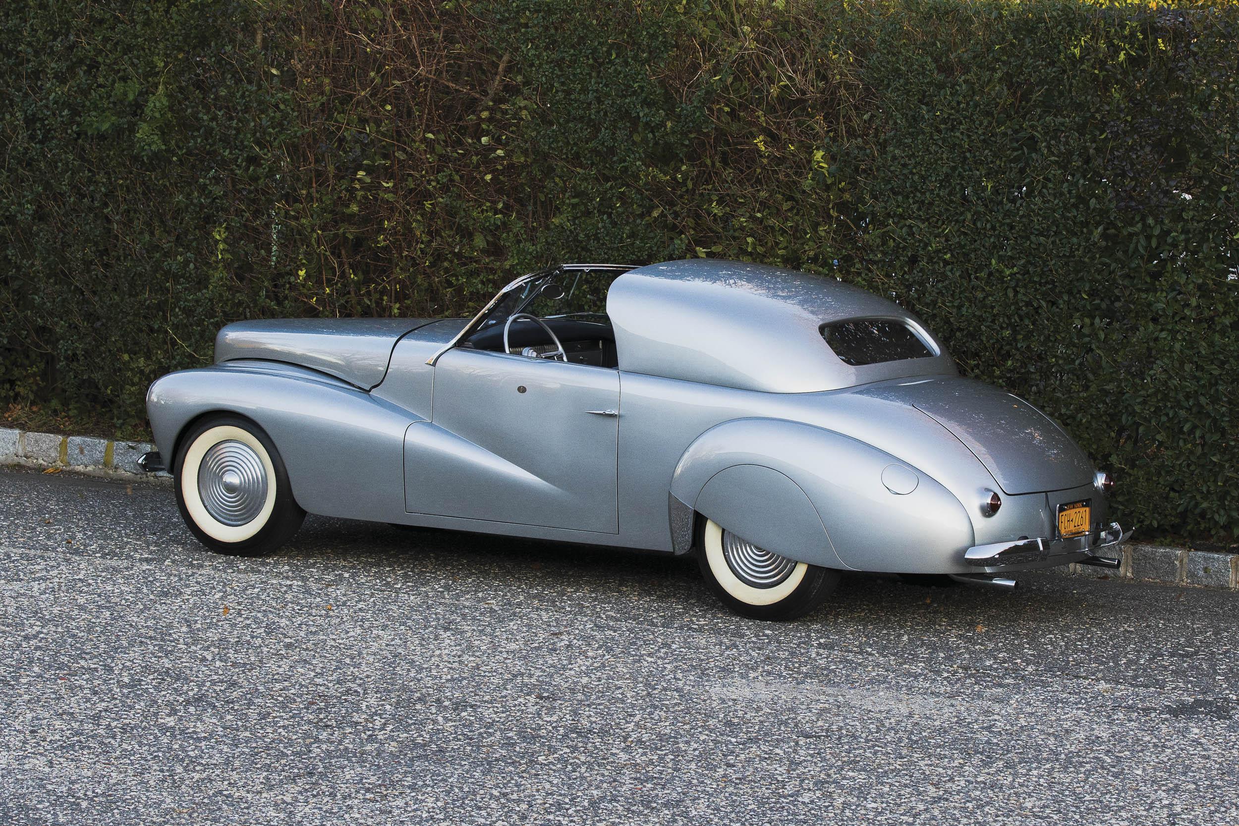 1941 Mercury Stengel Custom by Coachcraft rear 3/4