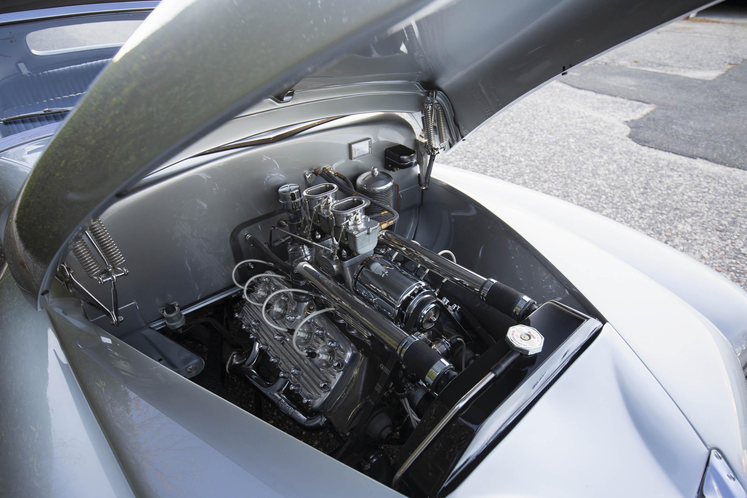 1941 Mercury Stengel Custom by Coachcraft engine