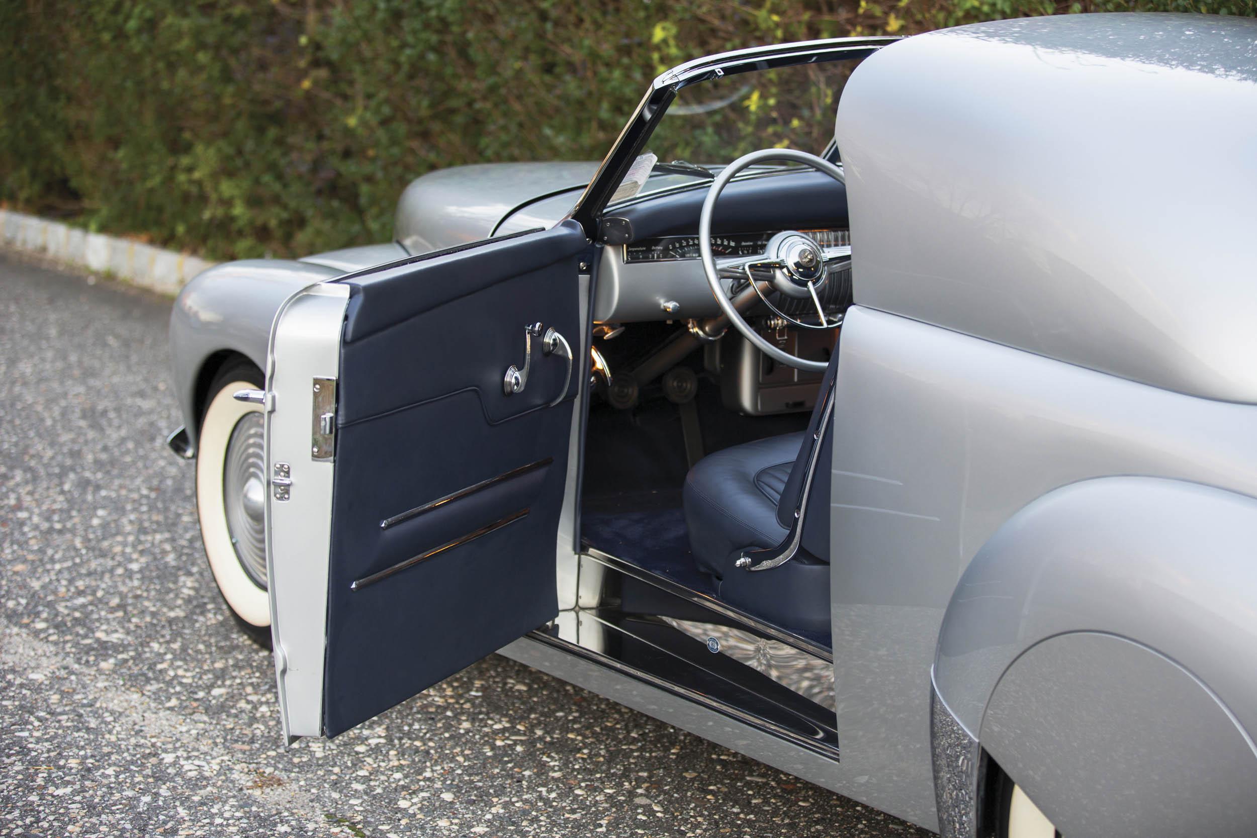 1941 Mercury Stengel Custom by Coachcraft interior
