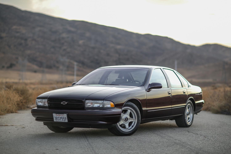 1996 Chevrolet Impala SS front 3/4