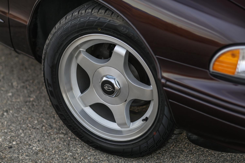 1996 Chevrolet Impala SS Wheel Detail