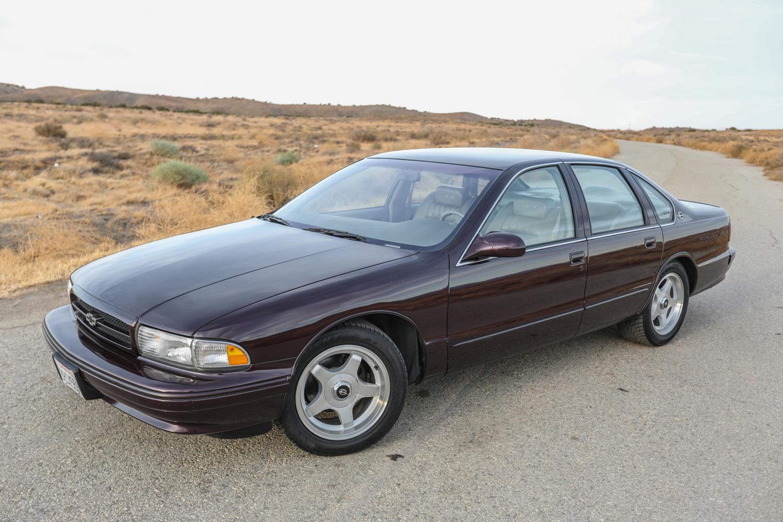 1996 Chevrolet Impala SS 3/4 high