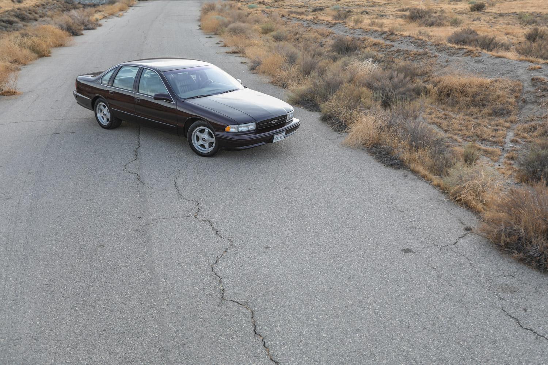 1996 Chevrolet Impala SS 3/4 far