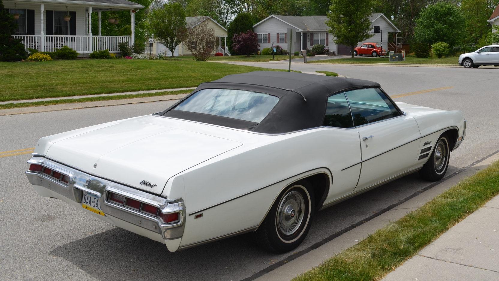1970 Buick Wildcat top up 3/4 rear