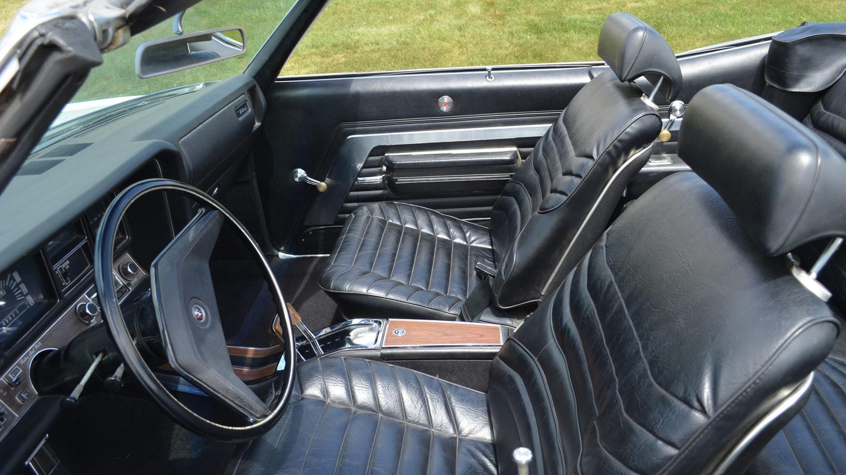 1970 Buick Wildcat interior seat driver