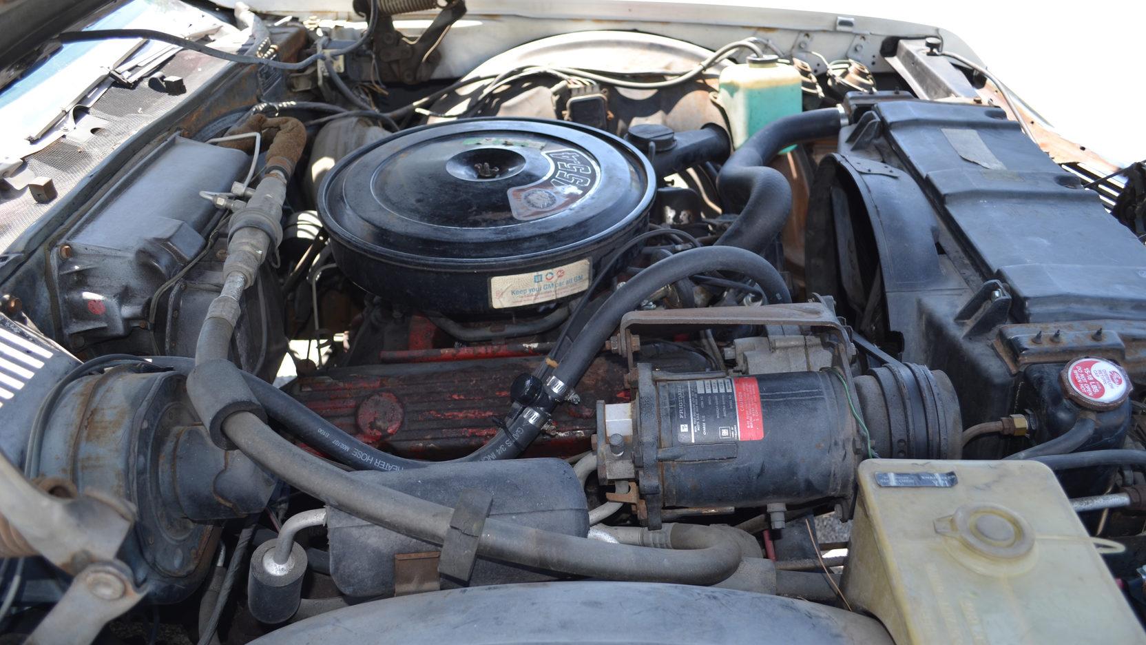 1970 Buick Wildcat engine side
