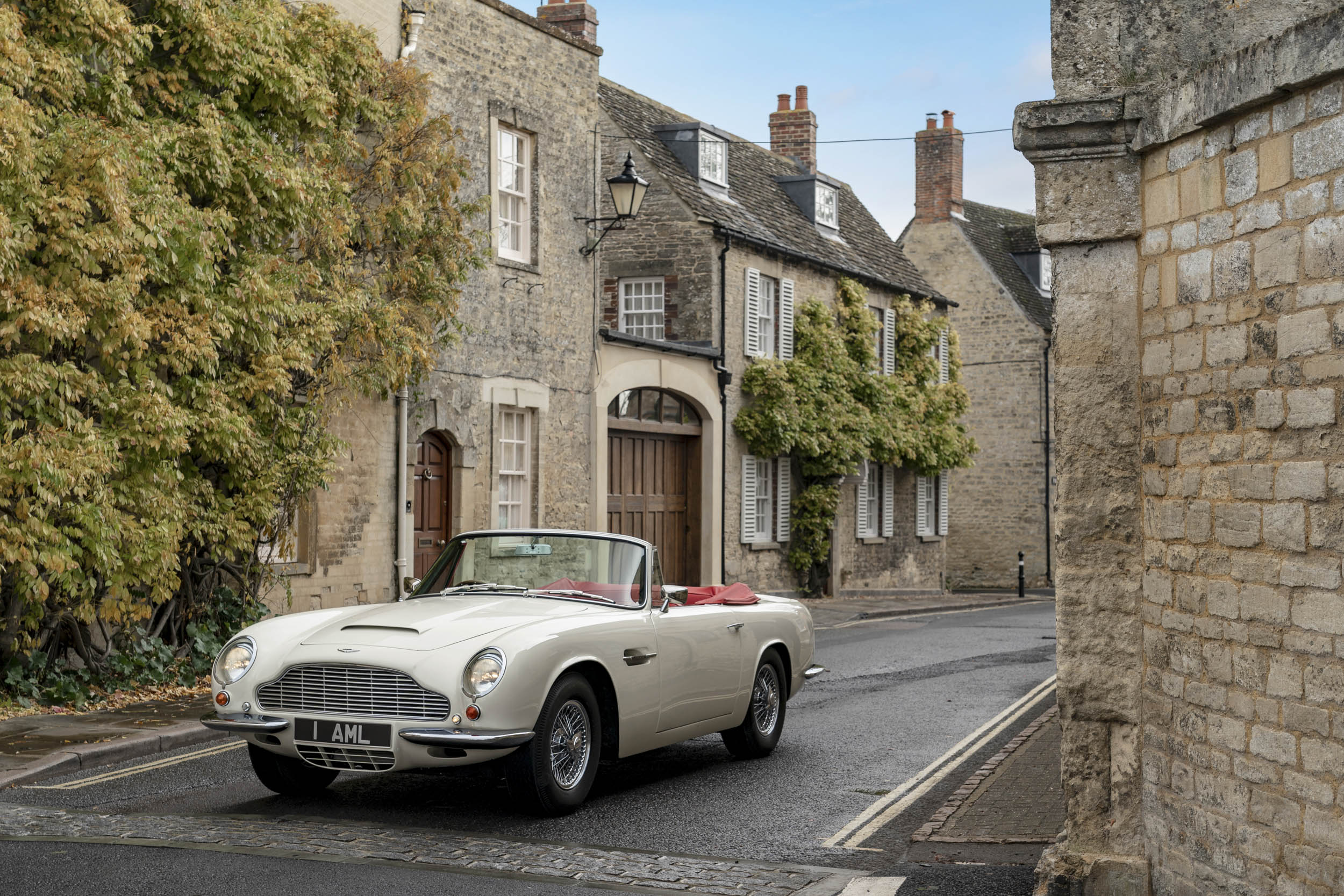 1970 DB6 MkII Volante EV on the streets