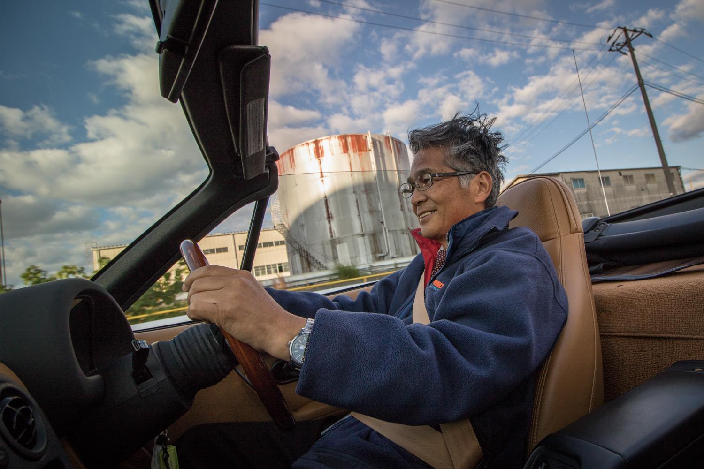 NA miata restoration driving in japan