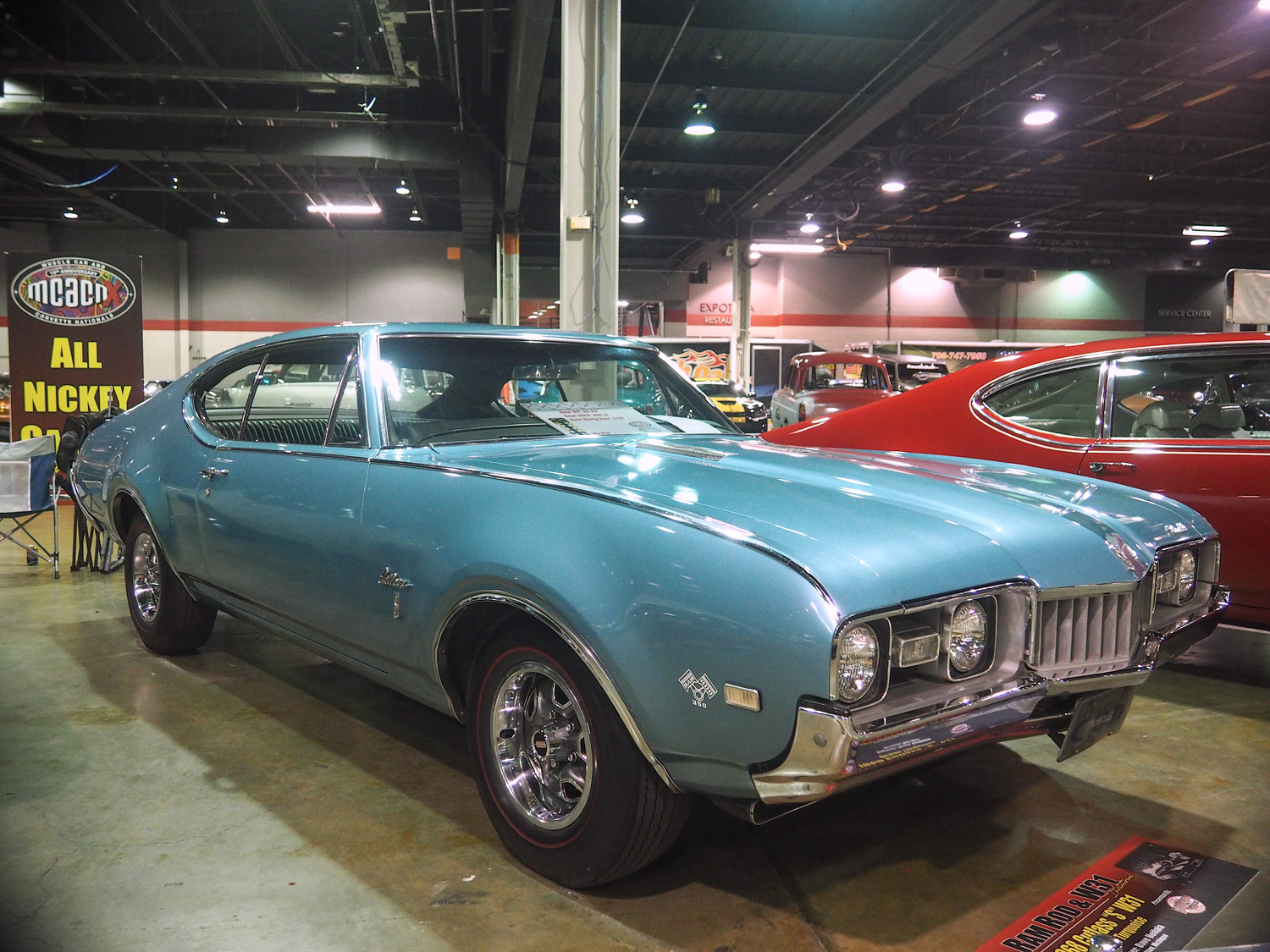 "This 1968 Cutlass S was ordered new by Dave Heilala with the ""Ram Rod"" 350 V-8 and 4-speed transmission."