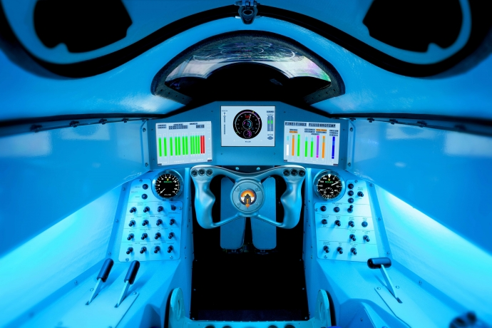 Bloodhound's cockpit