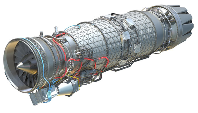 Bloodhound SSC engine render