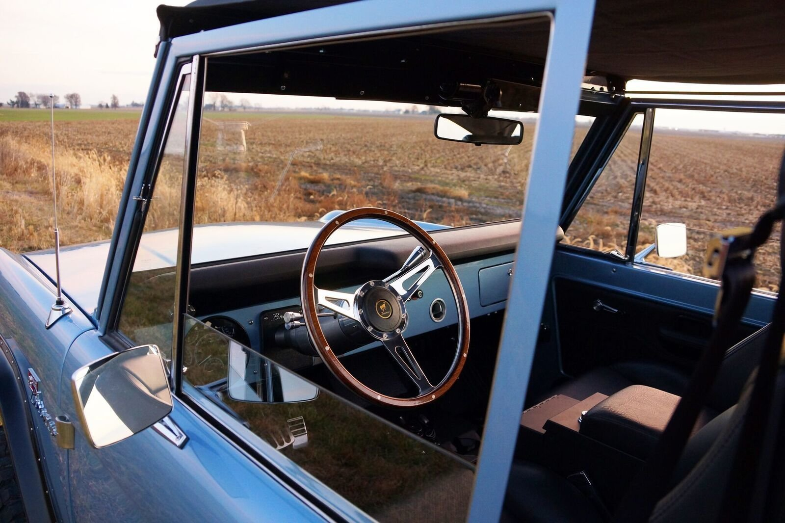 Gateway Bronco interior shot
