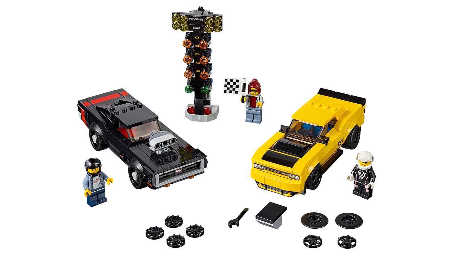 LEGO dodge charger and challenger