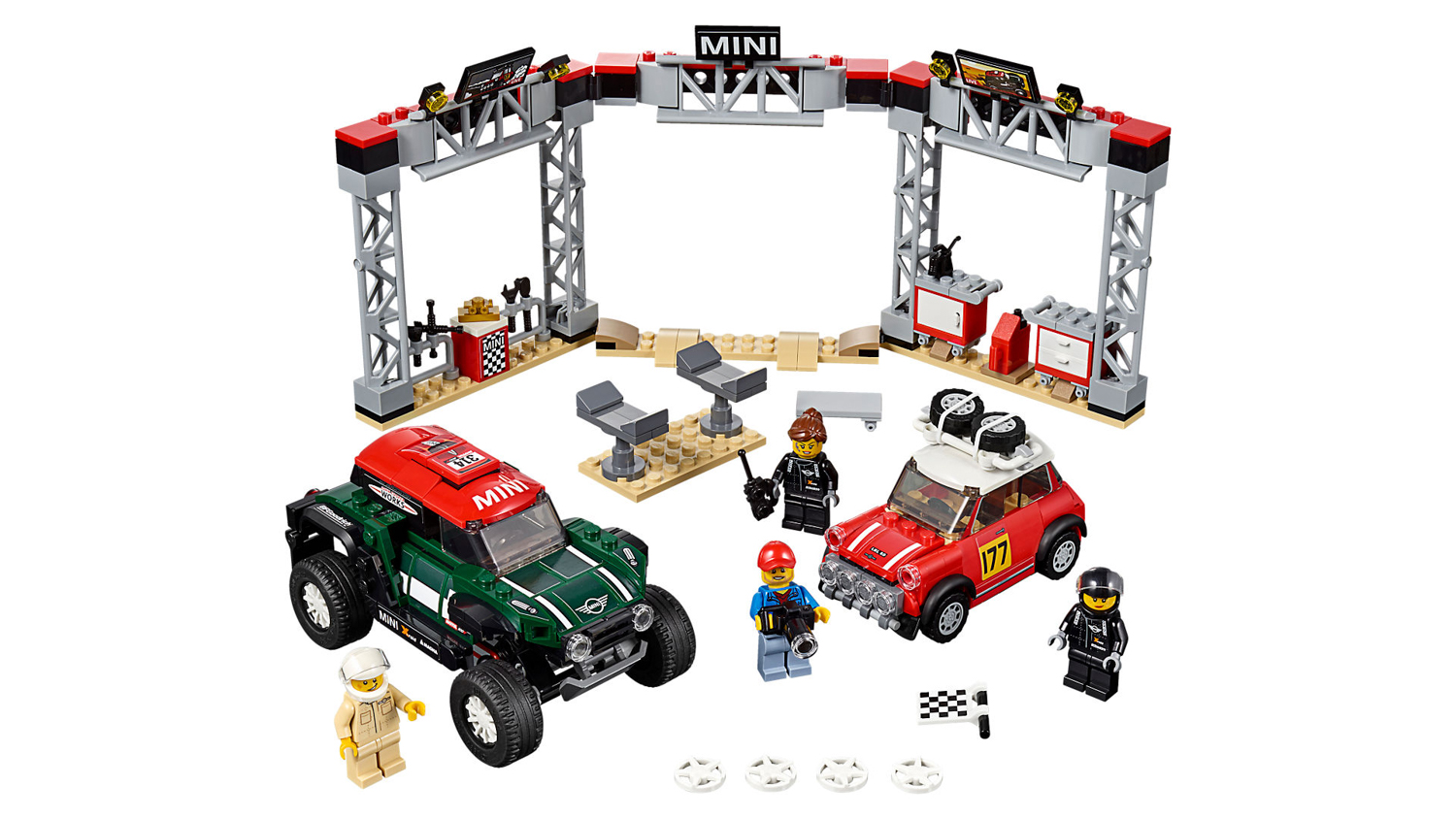 LEGO Ferrari F40, classic rally Mini and other awesome kits for 2019 thumbnail