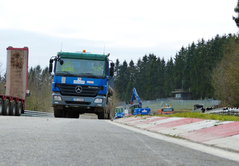 Nürburgring construction