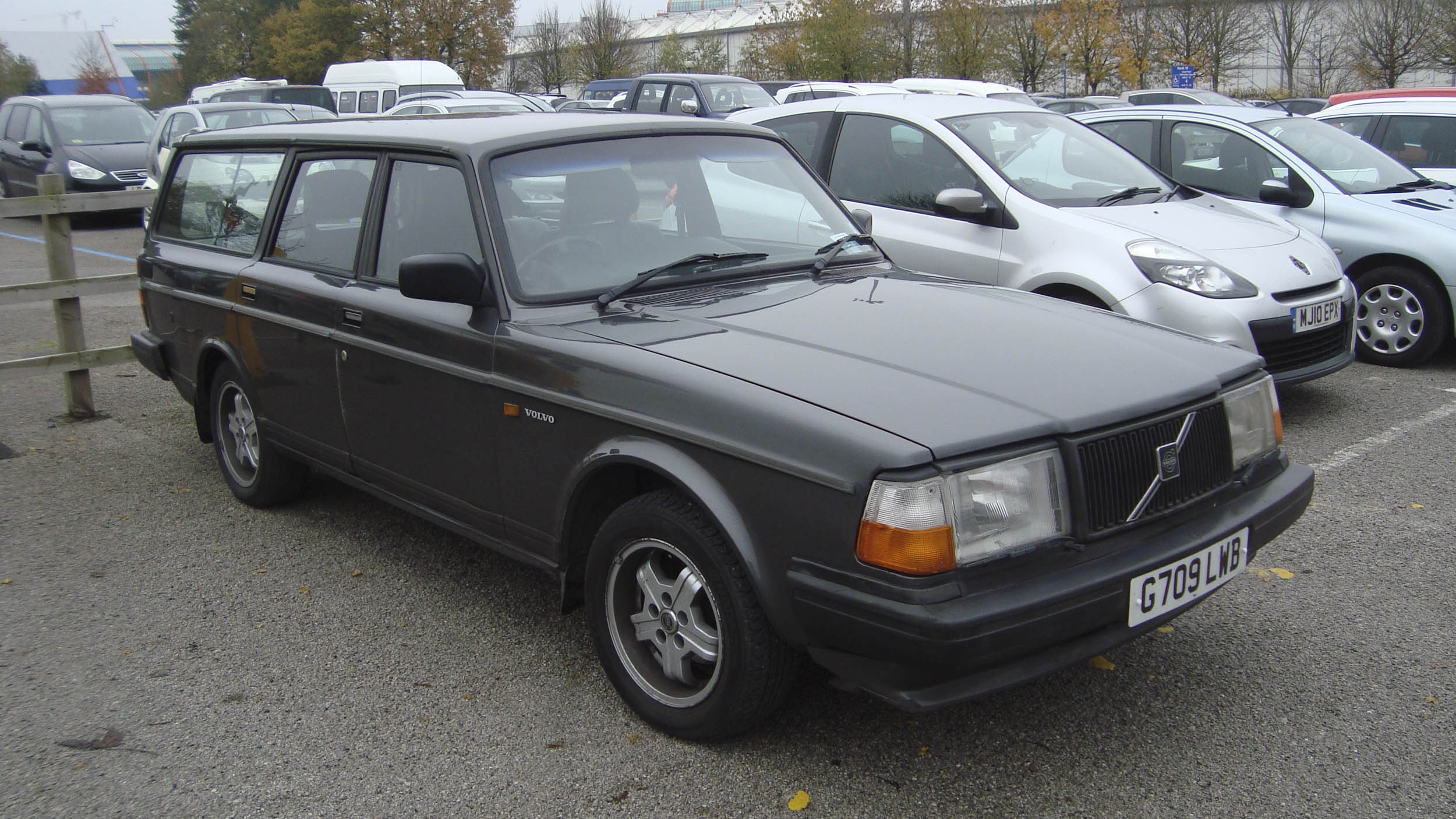 A turbo Volvo wagon like the one we had for a few years.