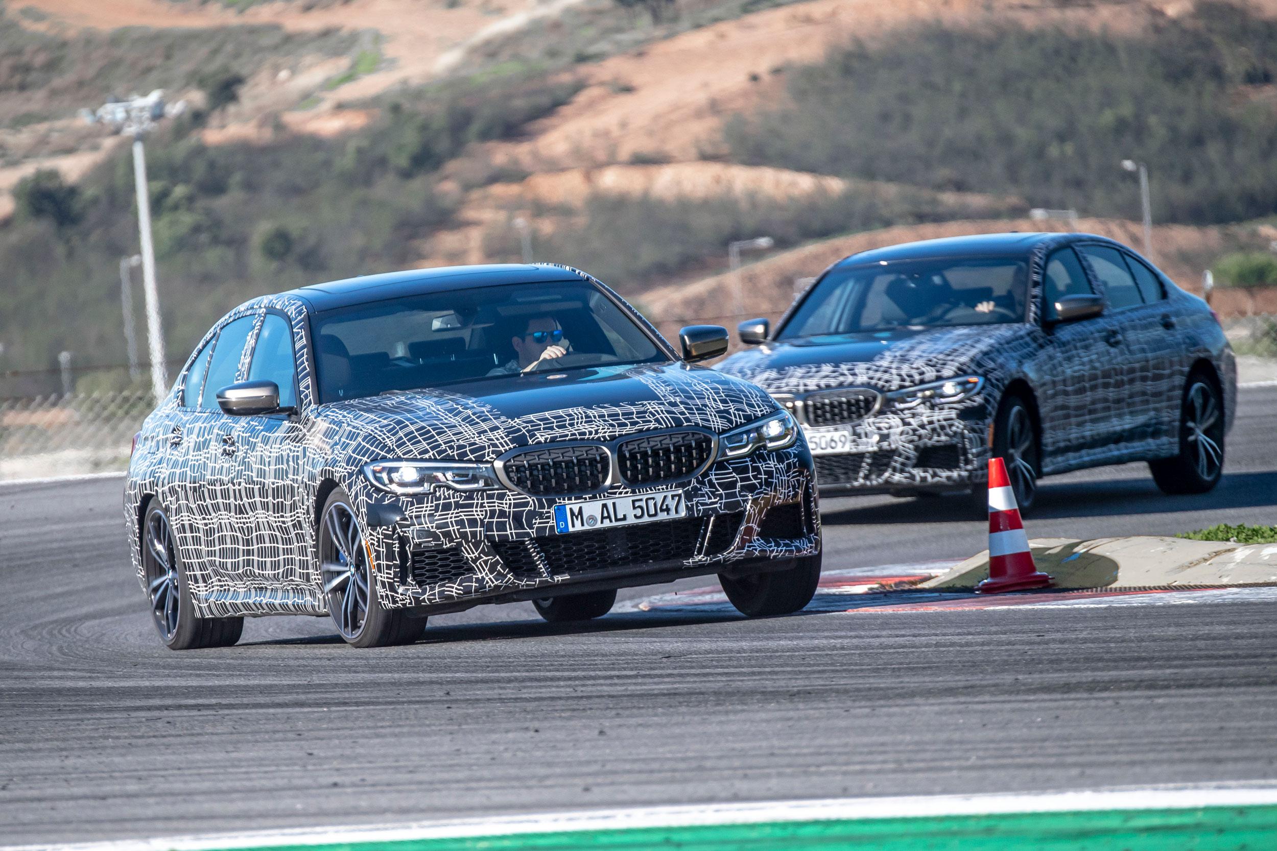 2019 BMW M340i xDrive banking left