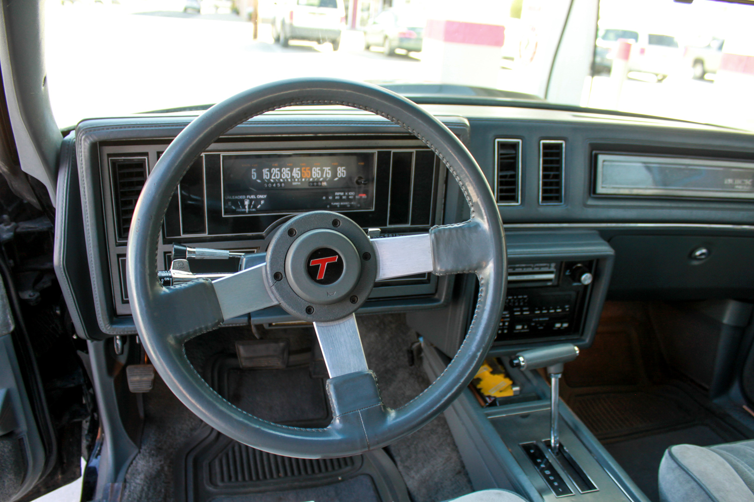 1987 Buick turbo-T steering and dash