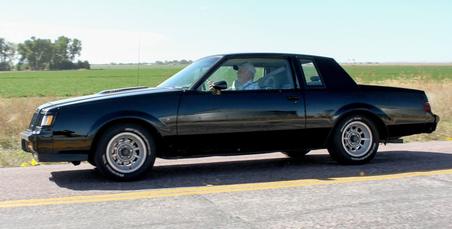 1987 Buick turbo-T side profile