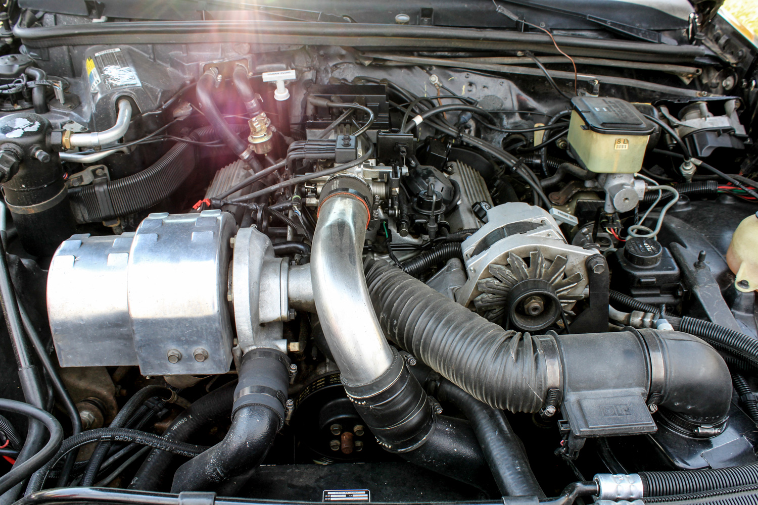 1987 Buick turbo-T engine