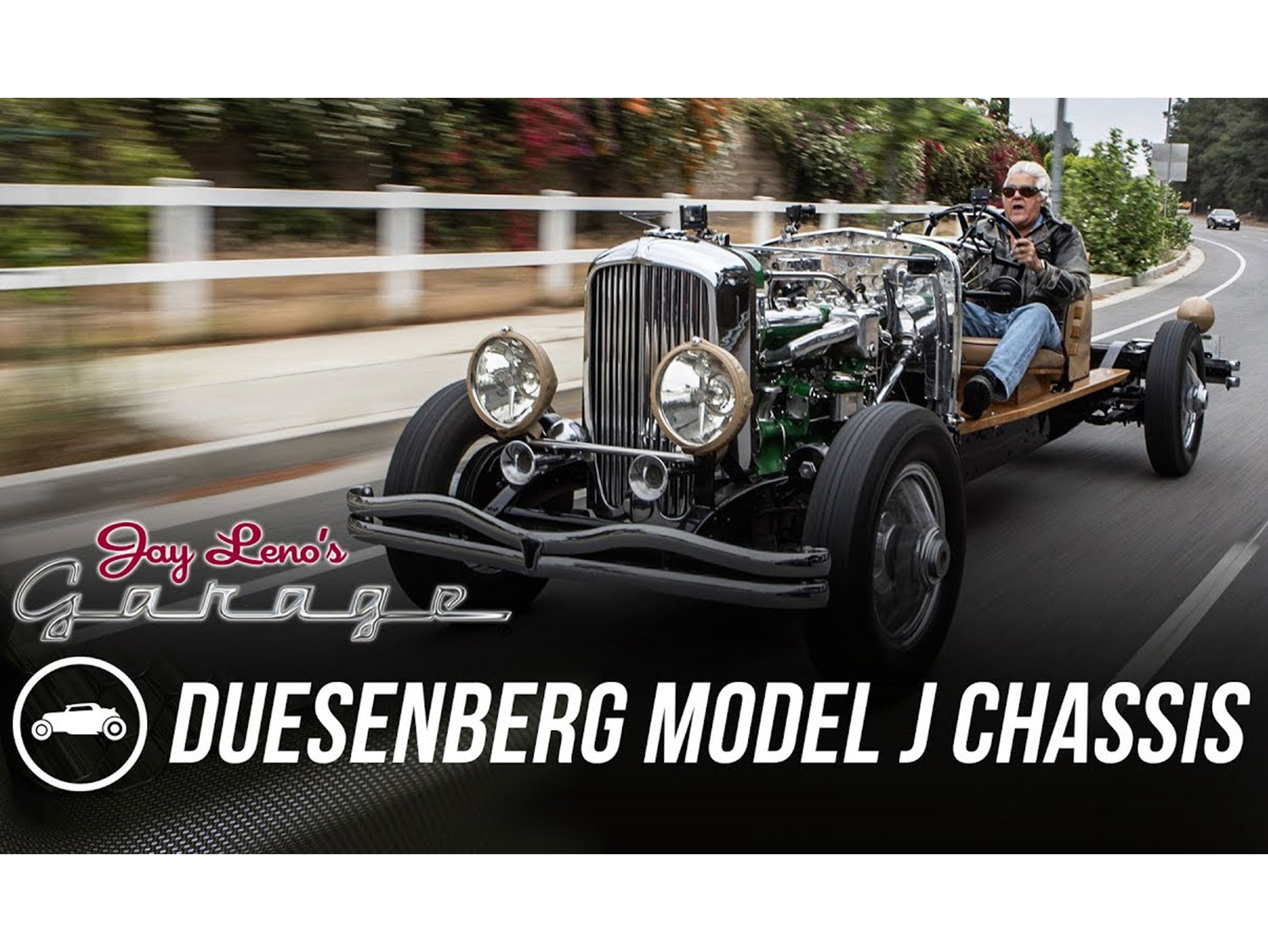 Driving a Duesenberg is one thing, but driving a Duesenberg chassis is just crazy thumbnail
