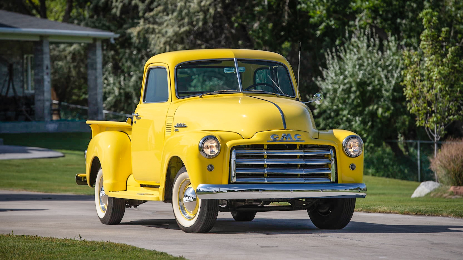 1949 GMC FC101 3/4 front yellow