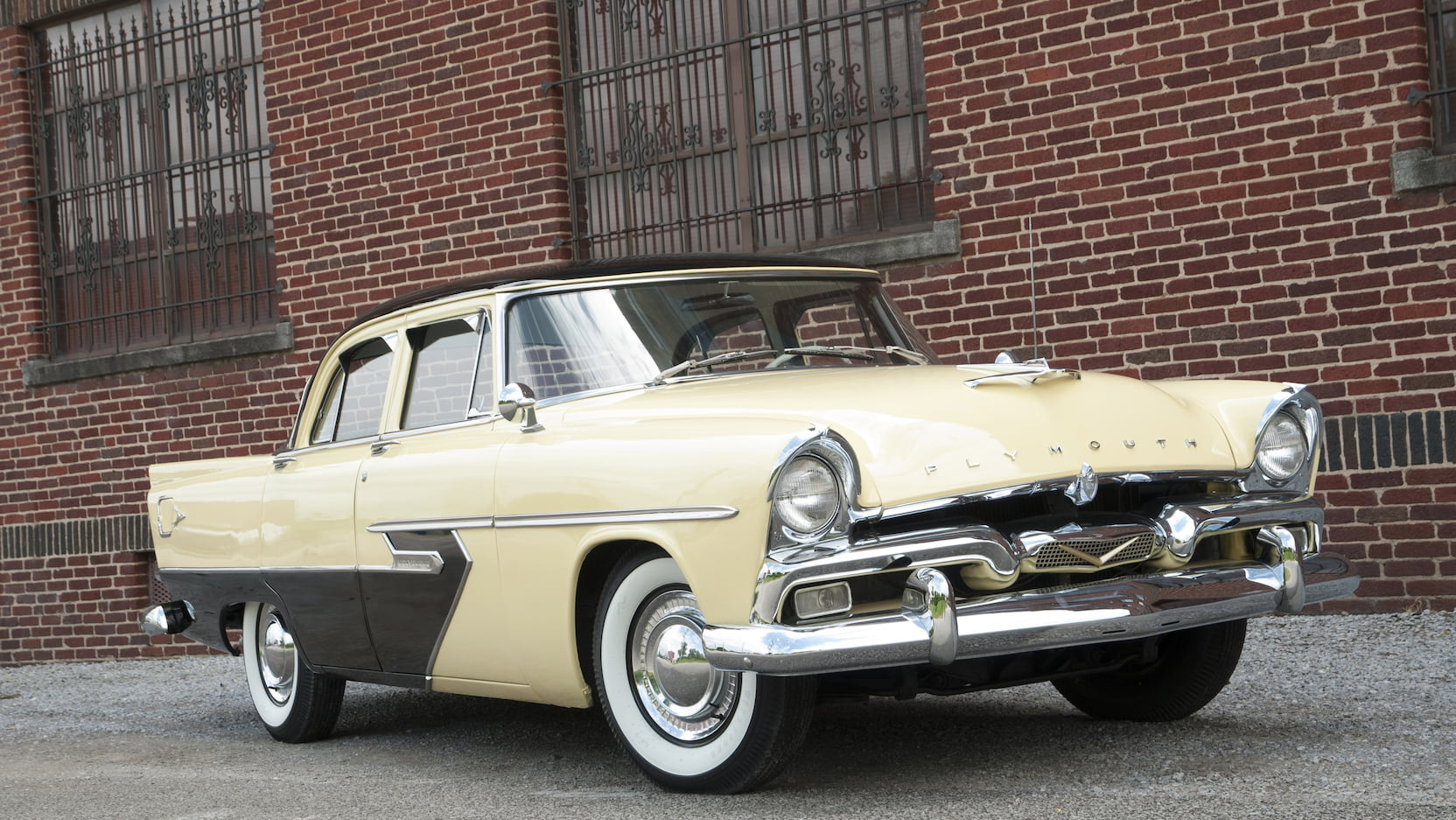 1956 Plymouth Belvedere 3/4 front