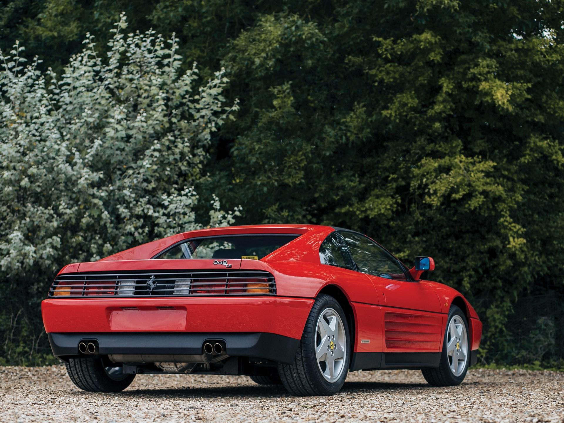 1991 Ferrari 348 TS rear 3/4