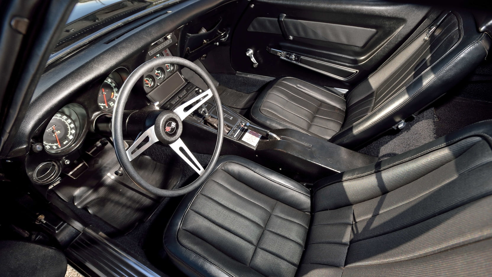 1969 Chevrolet Corvette l88 interior